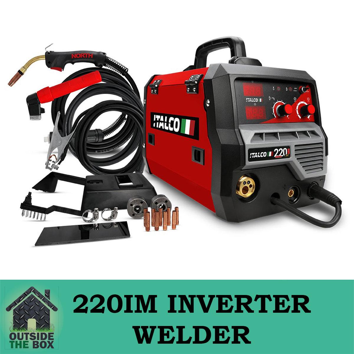 italco 220im 220amp inverter mig arc welder single phase. Black Bedroom Furniture Sets. Home Design Ideas