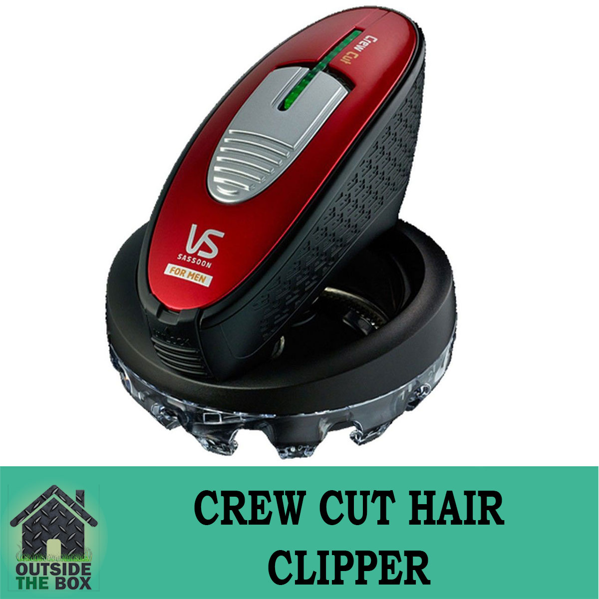 Details about VS Sassoon Crew Cut Hair Clipper Revolution in Self Hair  Cutting New