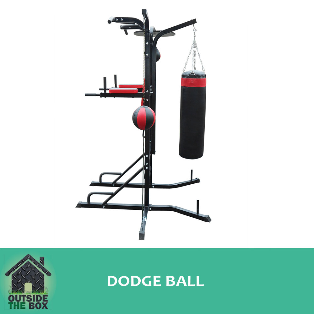 Power Boxing Strong Rhs Steel Station Gym Home Stand Speed