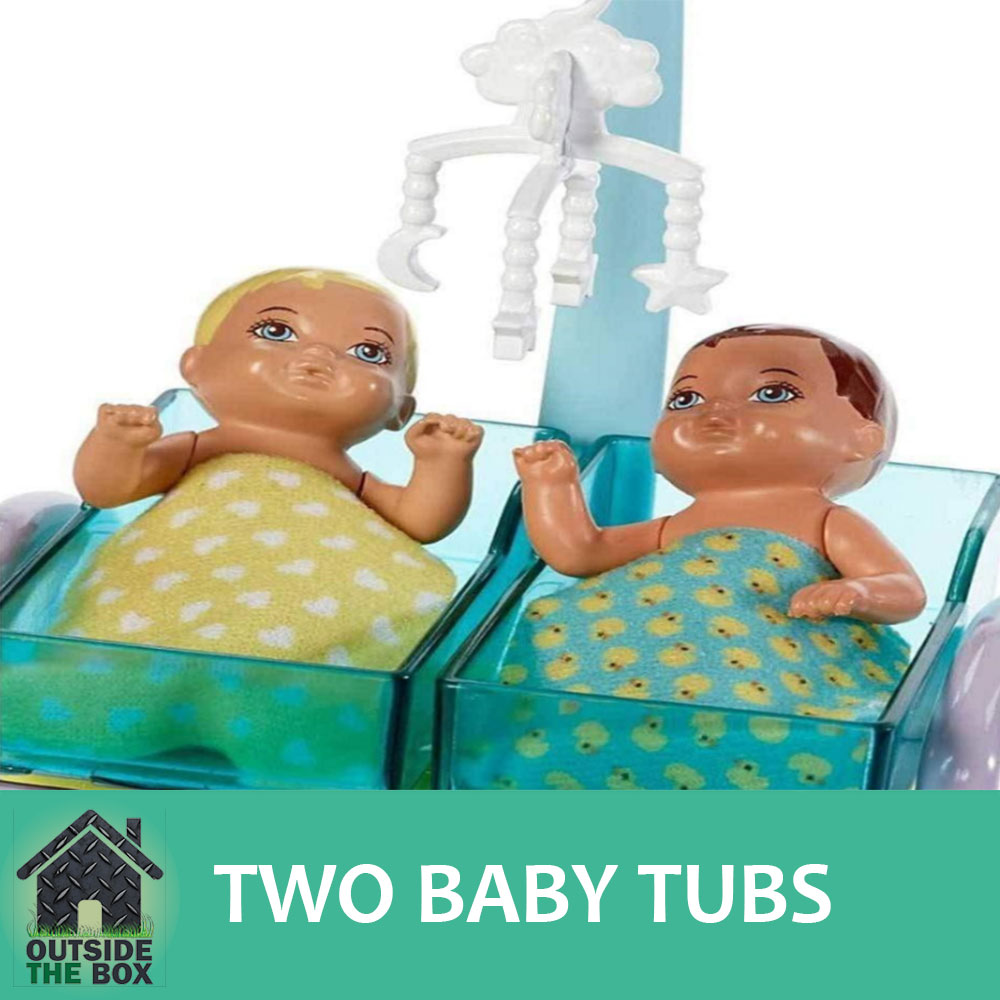 Barbie Baby Doctor Playset Doll Babies Tubs Chart Medical Patient ...